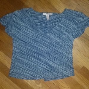 XS Forever 21 Blue Tee Shirt